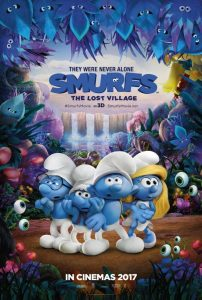 No School Movie!  Smurfs: The Lost Village @ Lomira QuadGraphics Community Library