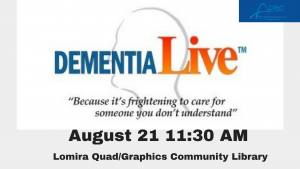 Dementia Live Experience @ Lomira QuadGraphics Community Library | Lomira | Wisconsin | United States