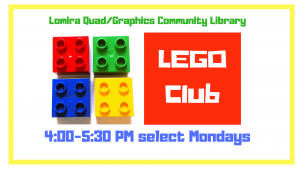 LEGO Club @ Lomira QuadGraphics Community Library | Lomira | Wisconsin | United States