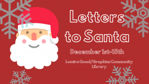 Letters to Santa @ Lomira Quad/Graphics Community Library | Lomira | Wisconsin | United States