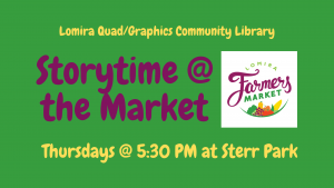 Storytime at the Market @ Sterr Park