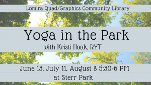 Yoga in the Park, with Kristi Haak, RYT
