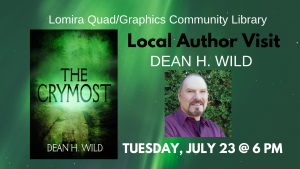 Local Author Visit: Dean H. Wild