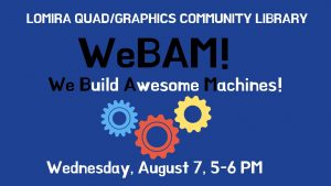 WeBAM! (We Build Awesome Machines!)