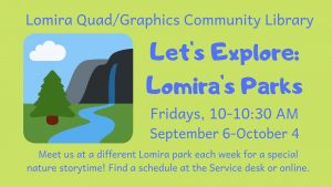 Let's Explore: Lomira's Parks @ Lomira QuadGraphics Community Library