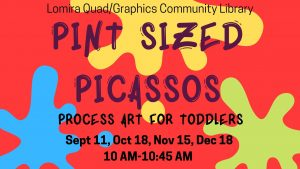 Pint-Sized Picassos @ Lomira QuadGraphics Community Library