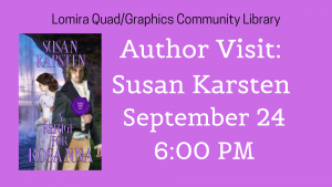 Author Visit: Susan Karsten @ Lomira QuadGraphics Community Library