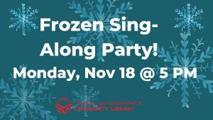 Frozen Sing-Along Party! @ Lomira QuadGraphics Community Library