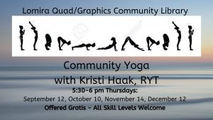 Community Yoga with Kristi Haak, RYT @ Lomira QuadGraphics Community Library