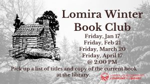 Lomira Winter Book Club @ Lomira QuadGraphics Community Library