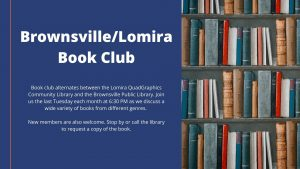 Brownsville/Lomira Book Club