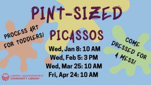 Pint-Sized Picassos @ Lomira QuadGraphics Community Library