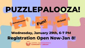 Puzzlepalooza! @ Lomira QuadGraphics Community Library